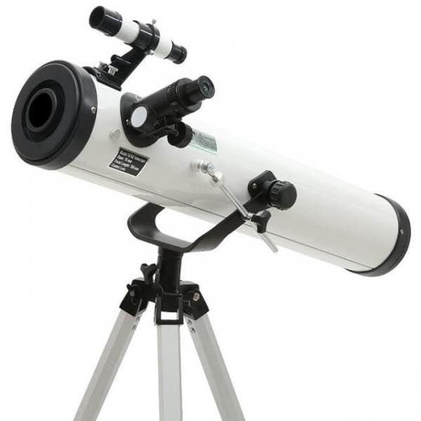 NATIONAL GEOGRAPHIC 76/700 Reflector Telescope EQ | Bresser